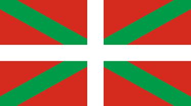 TenVinilo. Vinilo bandera ikurriña Euskadi. Vinilos de banderas con una representación del emblema nacional del País Vasco.