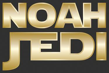 TenVinilo. Pegatinas personalizadas nombre Jedi. Pegatinas personalizadas de Star Wars con el nombre que desees. Un original regalo para frikis de la Guerra de las Galaxias.