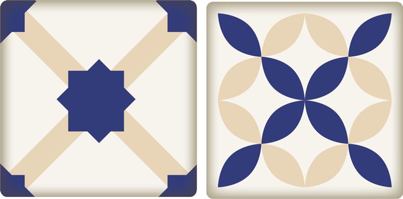 TenStickers. Adesivo decorativo piastrelle cucina. Adesivi per piastrelle, ideali per dare un tocco di eleganza a qualsiasi angolo della casa, specialmente alla cucina.
