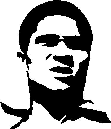 TenStickers. sticker silhouette Eusebio. Un sticker mural représentant la silhouette du joueur Eusebio applicable sur toutes surfaces et personnalisable. Livraison Rapide.
