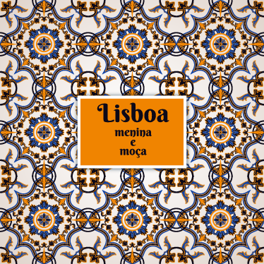 """TenStickers. Vinil decorativo Lisboa Menina e Moça. Vinil decorativo de uma das expressões mais conhecidas de Lisboa, Portugal. Adesivo de parede """"Lisboa, menina e moça"""", um tema de Carlos do Carmo."""