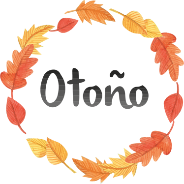 TenVinilo. Vinilo decorativo corona otoño. Vinilos decorativos inspirados en la estación otoñal, perfectos tanto para decorar tu casa como tu negocio.