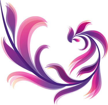 TenStickers. Adesivo ornamentale astratto floreale. Adesivi fiori astratti ideali per dare colore a qualsiasi stanza della tua casa. Adesivo murale elegante, disponibile in grande varietà di misure.