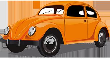 TenStickers. Wandtattoo Retro VW Käfer. Erinnern Sie sich noch an den VW Käfer? Dann holen Sie sich das Kult Auto in Form eine tollen Retro Wandtattoos zu sich nach Hause!