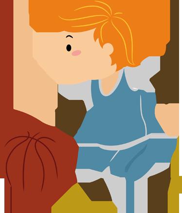 TENSTICKERS. バスケットボールをしている小さな男の子のステッカー. スポーツステッカー-バスケットボールをするアクティブな子供。お子様の寝室や遊び場を飾るのに最適なデザインをお選びください。