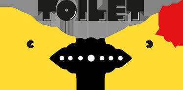 TenVinilo. Vinilo toilet Pacman. Señaliza en qué lugar de tu casa o tu negocio se encuentra el aseo con vinilos decorativos de videojuegos clásicos.