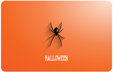 TenStickers. Halloween Spider Laptop Sticker. Protect your laptop from dust and scratches with this cool Halloween laptop sticker. This sticker consists of a spider crawling down your laptop
