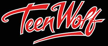 """TenVinilo. Adhesivo logotipo Teen Wolf. Vinilos decorativos de películas de los años 80 con el logotipo de tu film favorito """"Teen Wolf""""."""