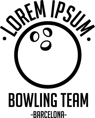 TENSTICKERS. ボウリングクラブウォールステッカー. 接着フィルムはボウリングボールで構成されています。ボウリングのボールの上にテキストをパーソナライズすることができます。たとえば、ボウリングチームの名前。