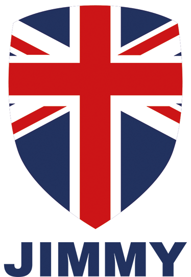 TenStickers. Personalised Union Jack Sticker. This sticker consists of the Union Jack flag, in the form of a coats and arms badge, with your own personalised name below.