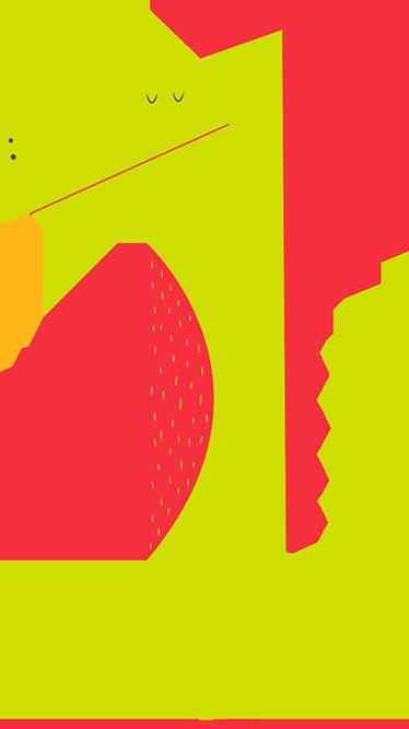 TenVinilo. Vinilos infantiles dibujo caimán. Vinilos infantiles de diseño exclusivo para decorar la habitación del peque de la casa con motivos tiernos y simpáticos caimanes.