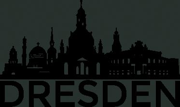 TenStickers. Wandtattoo Skyline Dresden. Sie leben in Dresden oder lieben diese tolle Stadt im Osten Deutschlands? Dann ist ein Wandtattoo mit der Skyline von Dresden genau das Richtige!