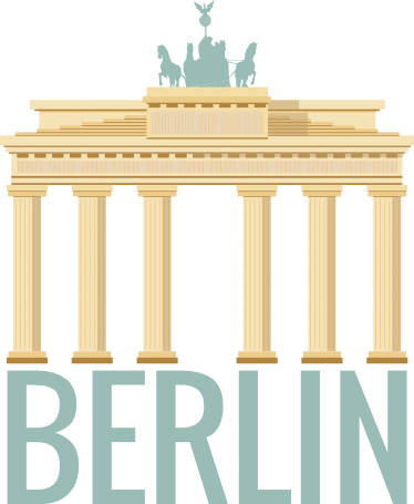 TenStickers. Berlin Brandenburg Gate Wall Sticker. Brandenburg Gate Berlin Wall Sticker, a nice wall decoration of one of the most beautiful and historical monuments in the German capital.
