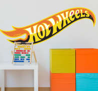 Adhesivo logo Hot Wheels