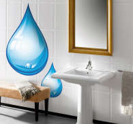 Drop of Water Wall Sticker