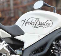 Harley Davidson Bike Sticker