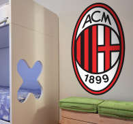 Sticker logo Milan AC