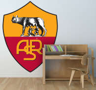 Sticker foot AS Roma