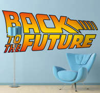 Back to the Future Wall Sticker