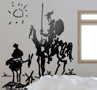 Sticker Don Quichotte Picasso