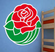 Sticker Rose Bowl