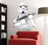 Vinilo decorativo storm troopers