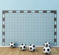 Football Goal Wall Sticker