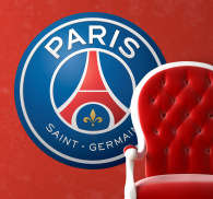 Sticker decorativo scudo Paris Saint Germain
