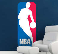NBA Logo Sticker