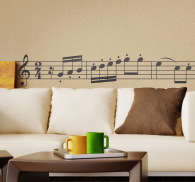 Beethoven Symphony Wall Sticker