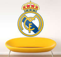 Vinilo decorativo escudo Real Madrid a color