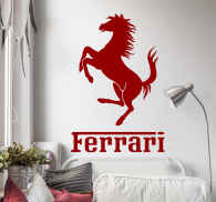 Ferrari Horse Sticker