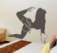 Vinilo decorativo stripper acrobacia