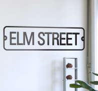 Sticker decorativo Elm Street