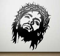 Jesus Crown of Thorns Wall Sticker