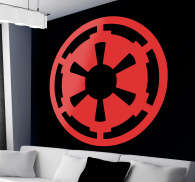 Sticker Star Wars Logo