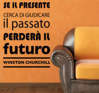 Sticker decorativo frase Churchill