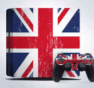 Sticker PS4 Royaume-Uni