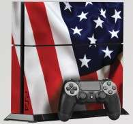 Sticker PS4 USA