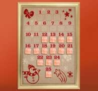 Advent Calendar Christmas Sticker