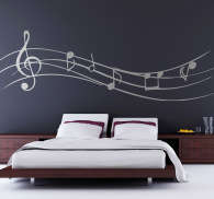 Musical Notes Wall Sticker