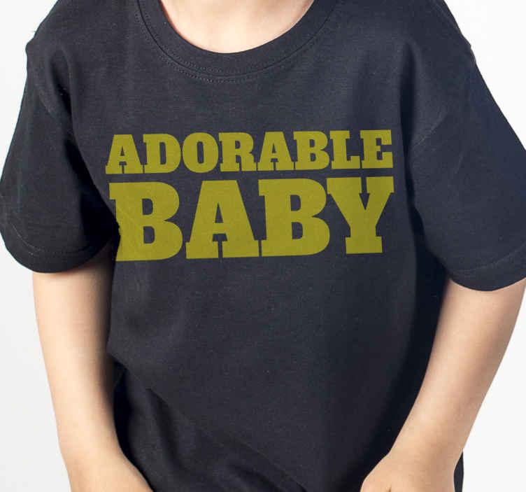 TenVinilo. Camiseta padre e hijo hago bebés adorables. ¡Echa un vistazo a esta adorable camiseta del día del padre con un texto divertido que hago bebés adorables! ¡Descuentos disponibles!