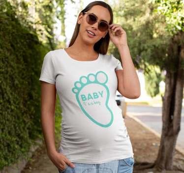 Roztomilé mateřské tričko speciálně určené pro matky, které jsou těhotné s chlapcem. Jedná se o kvalitní produkt, který odolá a vydrží dlouho.