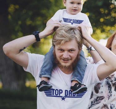 With this funny dad and son t-shirt you will amaze everyone you meet on the street and make them look up to you. You will love it!