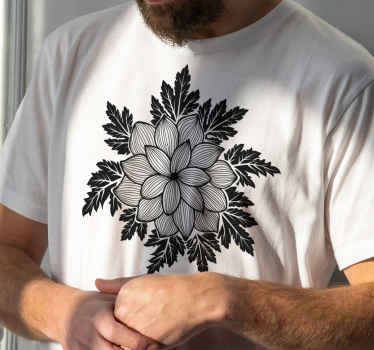 Lovely t-shirt with paisley design for men. You can use this shirt for your everyday casual outfit and look really smart in it.
