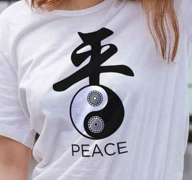 Compre esta camiseta para hombre o mujer con un fantástico diseño de ying yang para vestirte a tu estilo ¡Envío a domicilio!