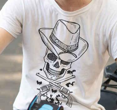Si vous aimez le style occidental, ce t-shirt cow-boy est parfait pour vous. Le produit est vraiment facile à entretenir et est de bonne qualité.