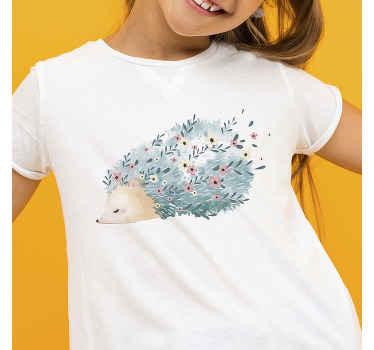 Un t-shirt hérisson avec lequel vous vous sentirez à l'aise. Ce t-shirt simple est facile à nettoyer et la qualité du produit est bonne.