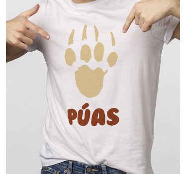 T-shirt personnalisé avec une empreinte de hérisson. Vous pouvez choisir la couleur souhaitée et la taille dont vous avez besoin. Il est facile à entretenir.
