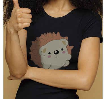 T-shirt simple que vous pouvez porter au quotidien. Portez ce t-shirt hérisson avec un jean ou un pantalon et appréciez sa matière agréable.